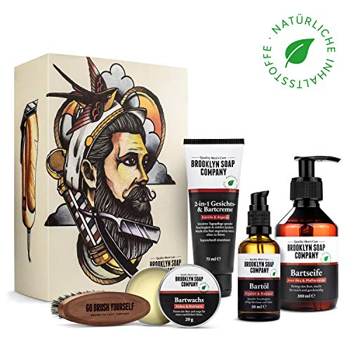 Einige Merkmale: Die Ultimate Beard Box von Brooklyn Soap